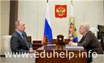 Президент РФ встретился с главой Минобрнауки